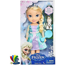 Muñeca Elsa Frozen Disney Store Reflection Eyes 35 Cm.