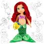 Muñecas Sirenita Ariel Pocahontas Animator 40cm Disney Store