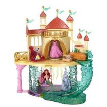 Princesas De Disney La Sirenita Castillo Playset