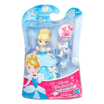 Princesas Little Kingdom Set Aurora-bella-jasmin-cenicienta