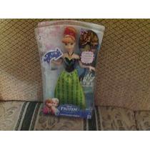 Anna Canciones Mágicas De Frozen ,original De Mattel .