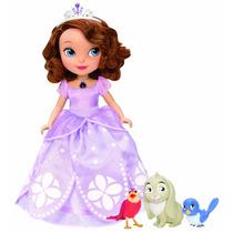Muneca Princesita Sofia Con Frases Luz Y Accesorios Importad