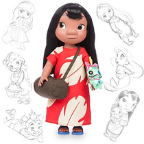 Animator Lilo Disney Store Muñeca Bebe Animadores Stitch