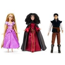Princesa Rapunzel Su Principe Flynn Y Mother Gothel Disney