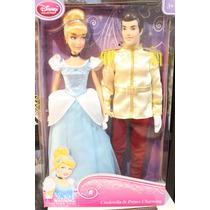 Muñeca De Cenicienta Y El Principe Encantador Disney