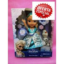 Frozen Unica Y Hermosa Muñeca De Elsa Que Canta