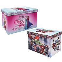 Baul Multiusos Frozen Anna Elsa Avengers Banca