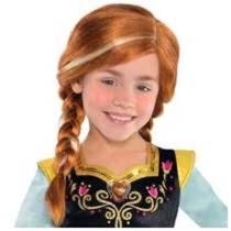 Frozen Peluca Para Niña Elsa O Ana