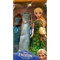Elsa Frozen Guardarropa Original Disney Collection