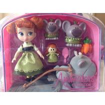 Anna Muñeca Mini Toddler Animators De La Disney Store.