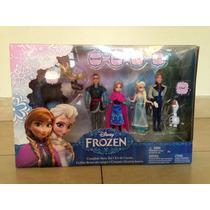 Kit De Cuento Disney Frozen Ana Y Elsa