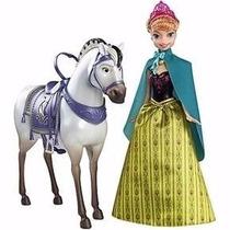 Anna De Frozen Con Su Caballo Real, Hans En Oferta Especial