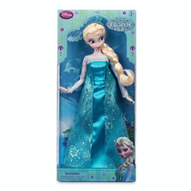 Muñeca Elsa Frozen Anna Disney Store Importado Original