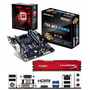 Kit Actualiza Amd Fx-8320e + Ga-78lmt-usb3 Radeon + 4gb Fury