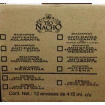 Tío Nacho Shampoo Anti-caída Caja Con 96 Piezas