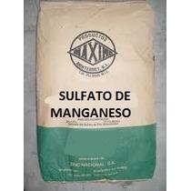 Sulfato De Manganeso Mn 25kg Fertilizante Soluble Polvo