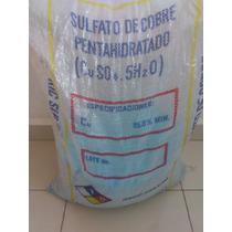 Sulfato De Cobre Grado Industrial 1kg
