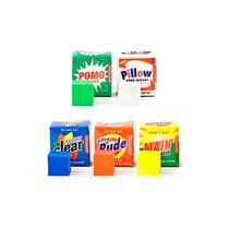 Borradores En Forma De Detergente 5 Piezas Nuevos Oficina