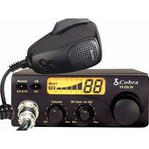 Radio Cb Cobra - 40 Canales Cbr19dxiv Con Microfono Dinamico