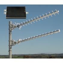 Repetidor Amplificador Booster Doble Banda + 2 Antenas Yagi
