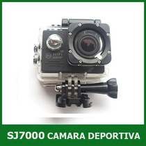 Camara Action Cam Sj7000 Full Hd 1080p 12mp Wifi Sumergible