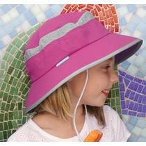Sombrero Kids Fun Bucket Protección Solar Upf 50+ Playa, Sol