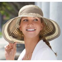 Sombrero Morocco Protección Solar Upf 50+ Playa, Viaje, Moda