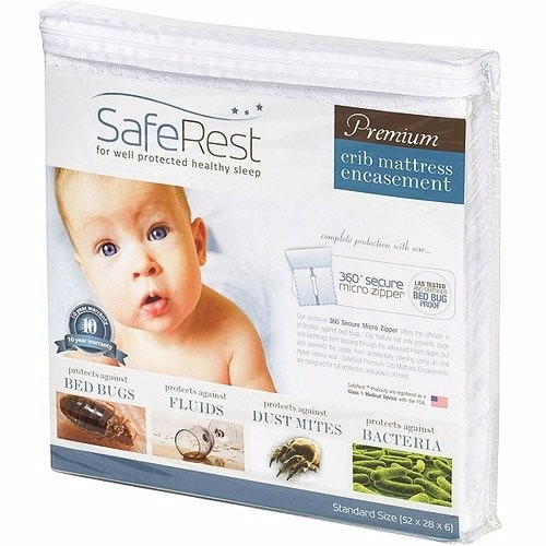 Amarillo Mattress Protector Cubre Colchon Impermeable Cuna Bebe Chinches Ziper - $ 1,399 ...
