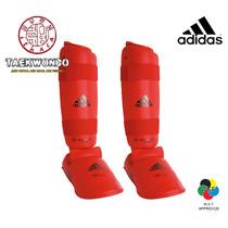 Equipo De Entrenamiento Adidas - Espinilleras Karate Wkf
