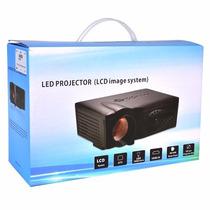 Proyector Led Multimedia Hdmi Usb Vga 1800lumen 45-125 Plg
