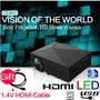 Mini Proyector Led Gm60 Tv Turner Hdmi 3d Full Hd