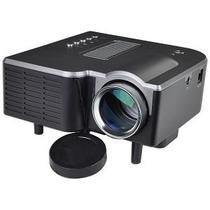 Mini-proyector Led 21 A 60 Slot De Tarjeta, Rca, Usb