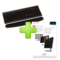 Kit Descansamuñecas P/teclado Con Filtro Privacidad 14 3m