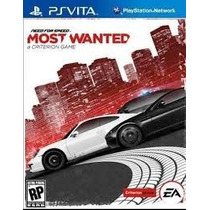 Psvita Need For Speed Most Wanted Fisico Nuevo Y Sellado