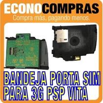 Bandeja Porta Sim Para 3g Psp Vita 100% Nuevo!!!!!!!!!!!!!!!