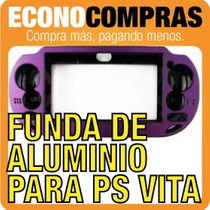 Funda De Aluminio Psp Vita Varios Colores 100% Nueva!!!!!!