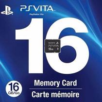 Memoria De 16 Gb Memory Card Para Ps Vita O Ps Vita Tv