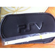 Funda Protectora Para Playstation Vita Con Muñequera
