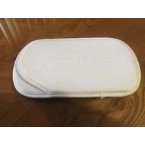 Funda Afelpada Para Ps Vita Color Blanca