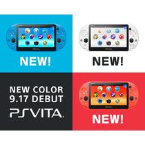Playstation Vita Japonesas - Nuevas Varios Colores