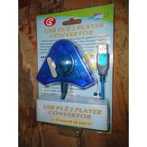 Adaptador /convertidor Control Ps2 A Pc/ps3