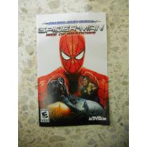 Spiderman Web Of Shadows Manual