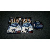 Karaoke Revolution American Idol Encore Play Station 2