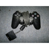 Control Dual Shock 2 Para Play Station 2 Color Negro