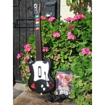 Guitarra Guitar Hero 2 Negra Para Ps2 Con Juego
