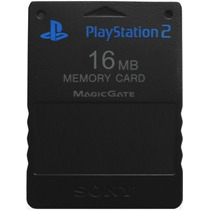 Memory Card 16mb Sony Ps2 Play Station Playstation 2 Memoria