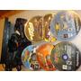 Play 2 Slim 79001+ 2 Controles + Av+6 Juegos + Fuente Vmf