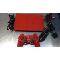 Consola Playstation 2 Color Rojo Edicion Especial