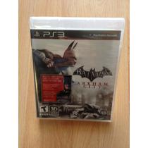 Playstation 3 Batman Arkham City Con Hot Wheels De Regalo