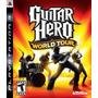 Guitar Hero World Tour Ps3 Usado Original Blakhelmet E